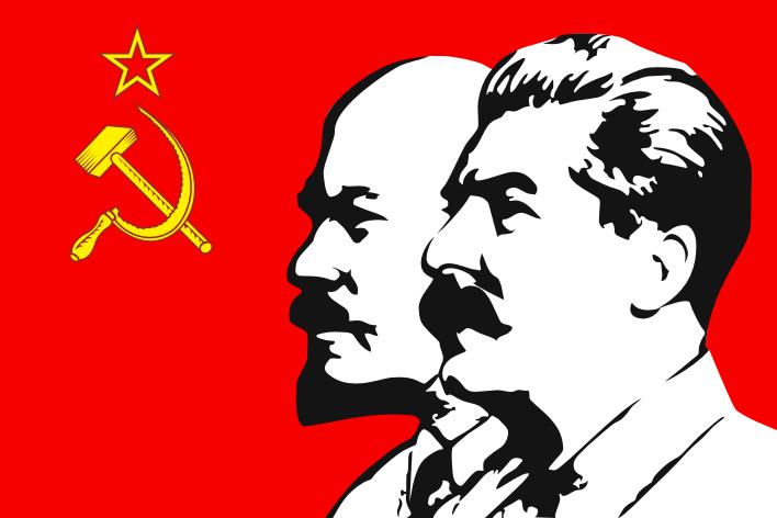 Ленин и сталин картинки